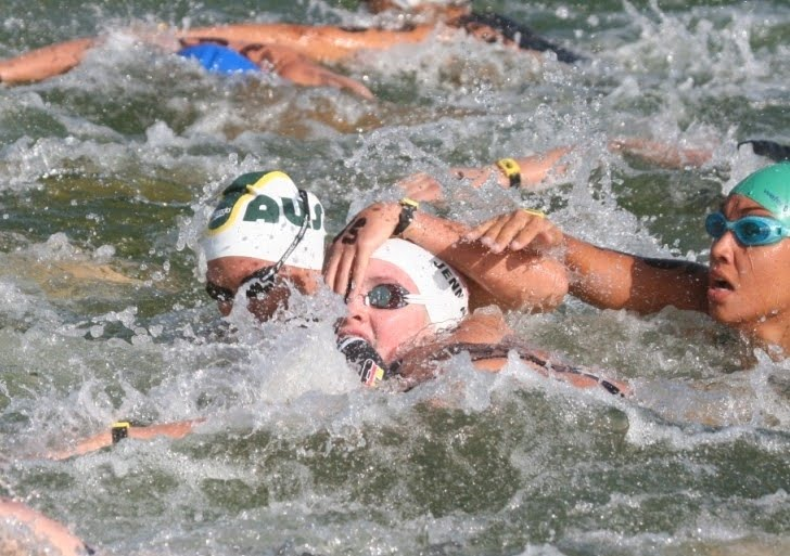 Triathlon's View Of Physical Contact In Open Water Swimming