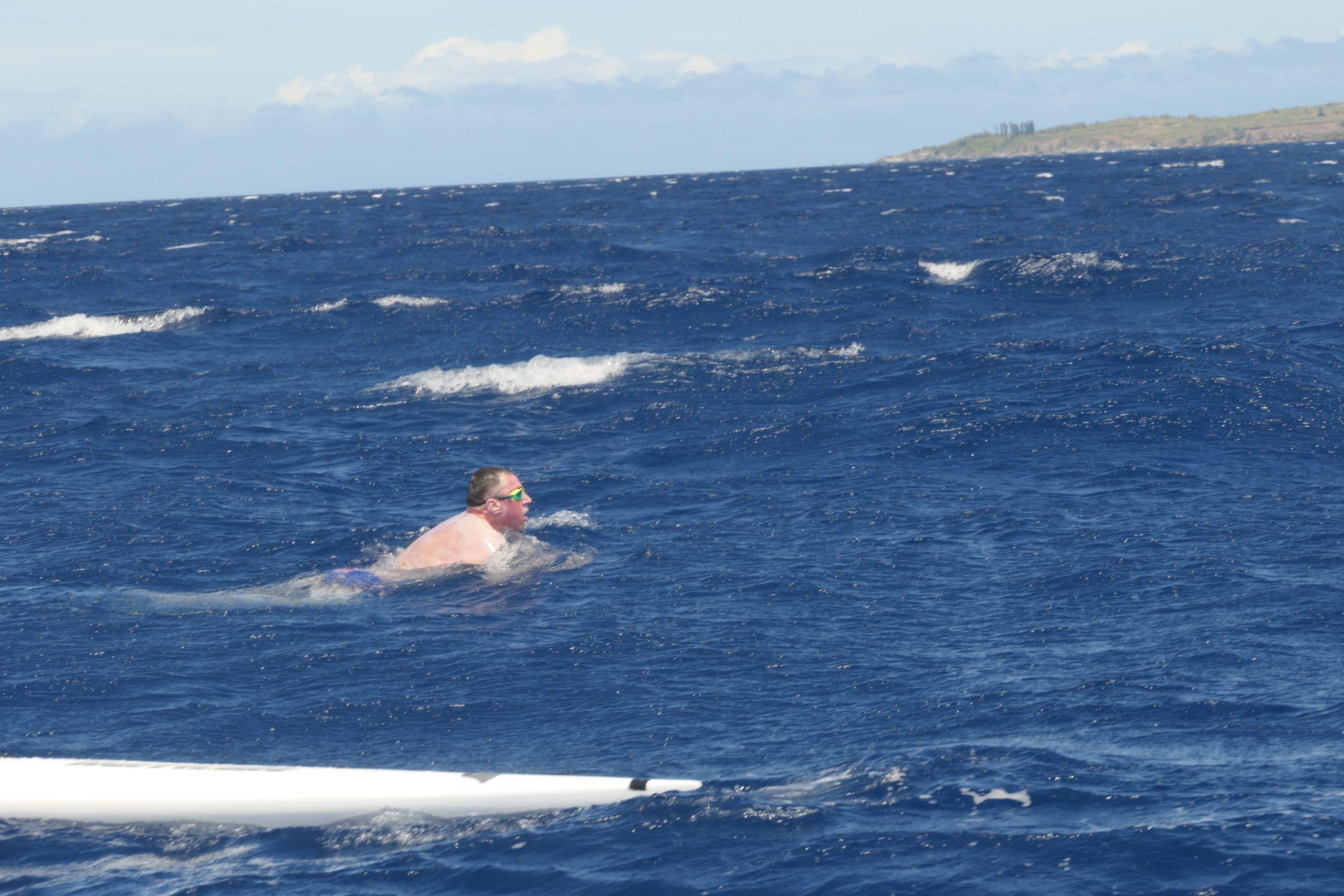 Dr Andrew Davis Looks Forward Across The Maui Channel