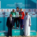 Leonie Beck Wins FINA/CNSG Marathon Swim World Series In Doha